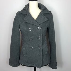 Full Tilt Jackets & Coats - Full Tilt Grey Button Jacket Size M